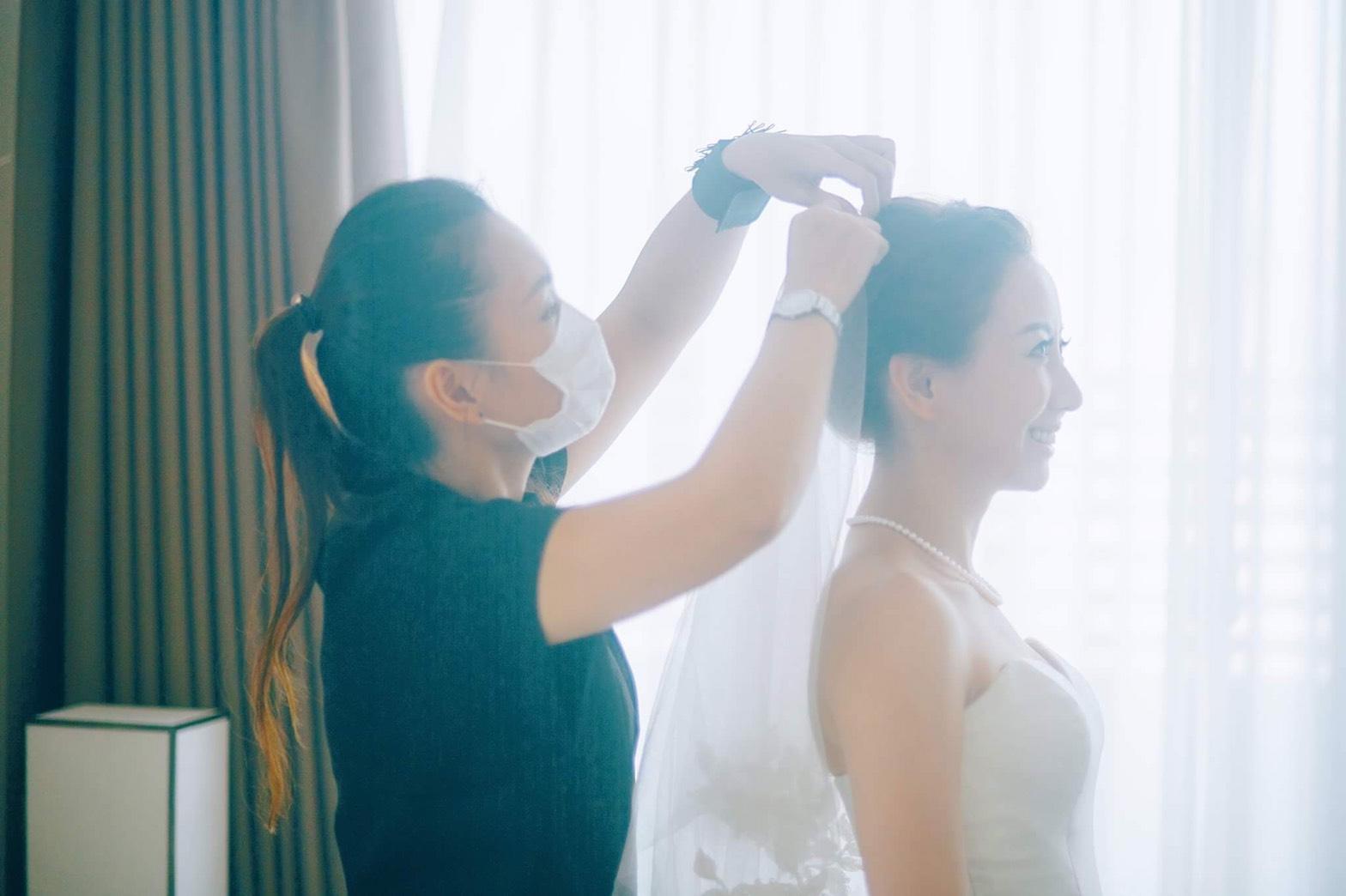 新娘秘書, 新娘造型, 韓系, 鮮花造型, 光澤肌, 歐美, 清新自然, 時尚, 巴洛克新秘婷婷