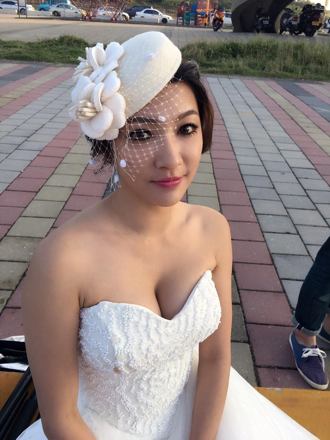 新娘秘書, 新娘造型, 韓系, 鮮花造型, 光澤肌, 歐美, 清新自然, 時尚, 英式復古