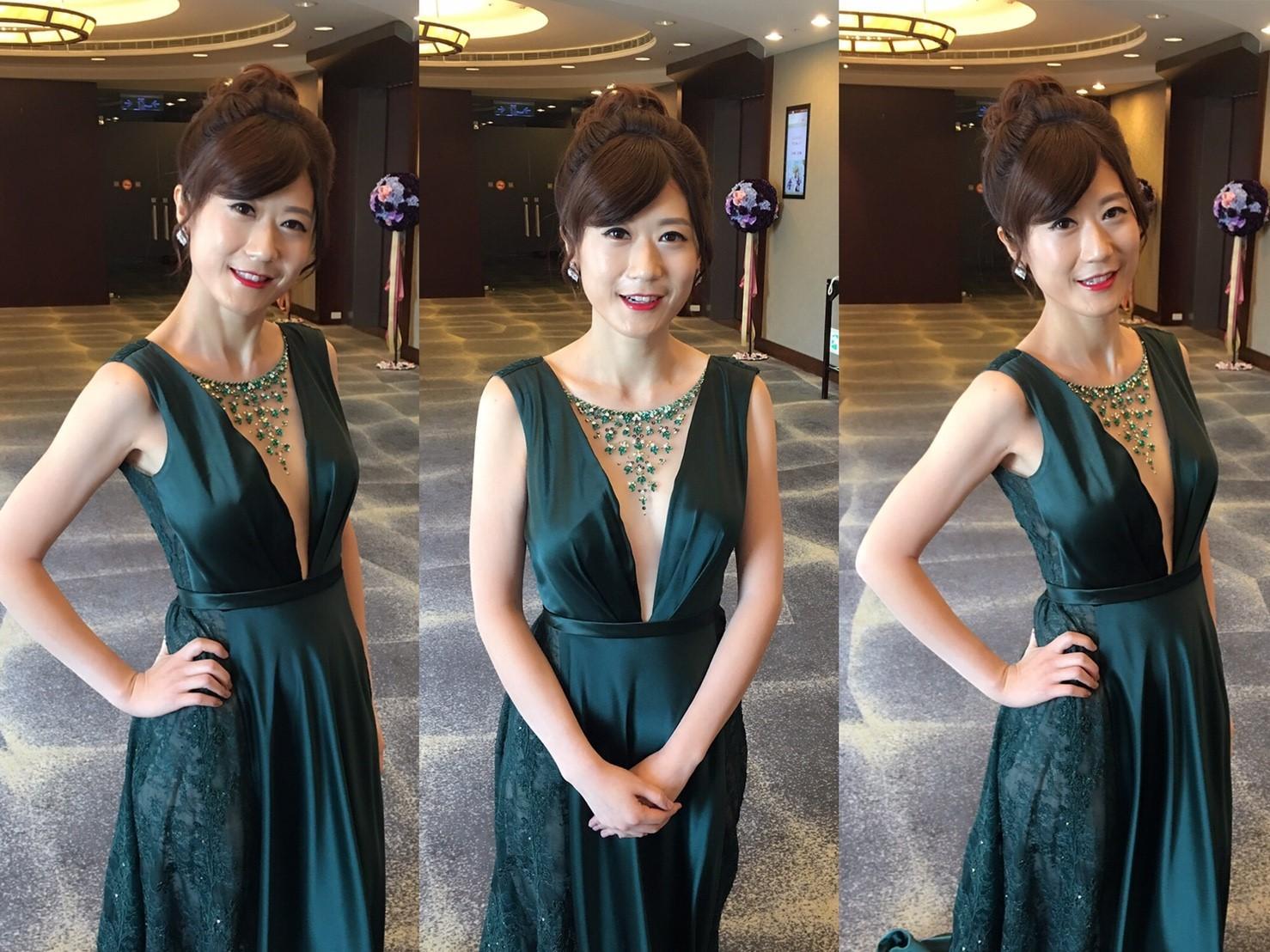 新娘秘書婚宴敬酒造型, 新娘造型, 韓系, 鮮花造型, 光澤肌, 歐美, 清新自然, 時尚