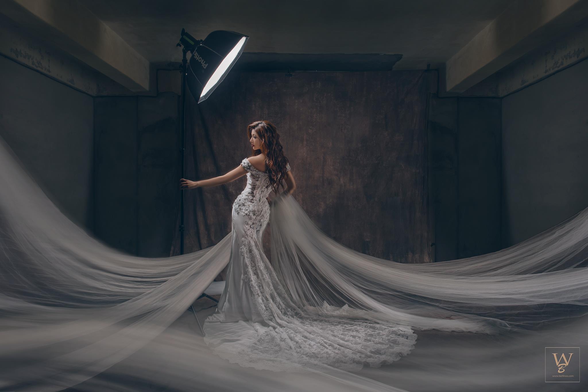國內婚紗,新娘造型