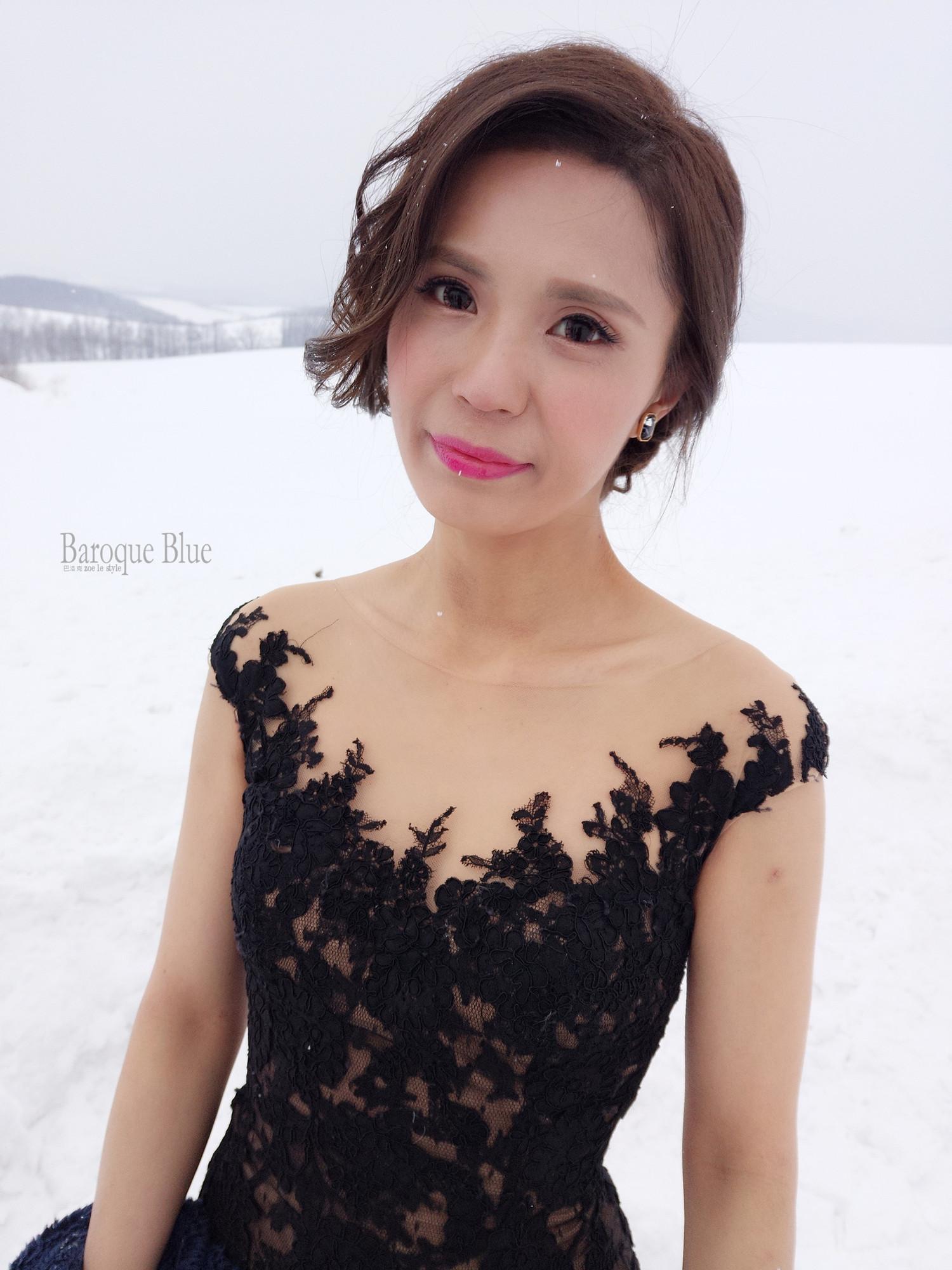 北海道婚紗造型