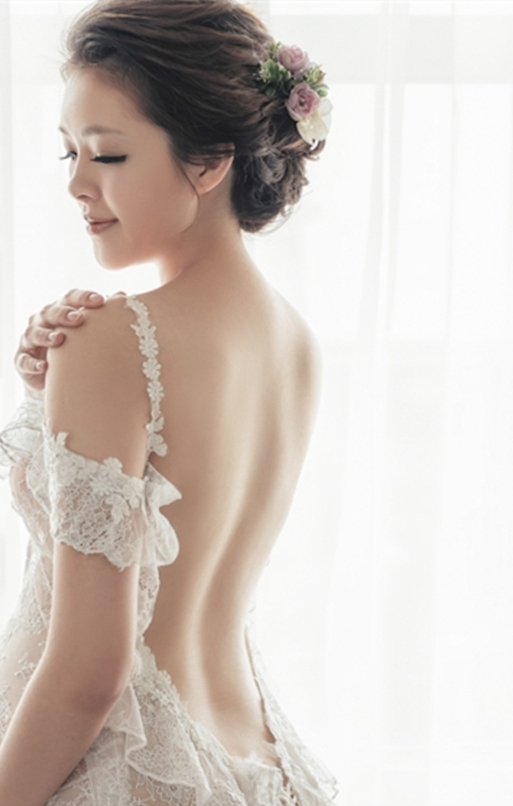 新娘秘書, 新娘造型, 韓系, 鮮花造型, 光澤肌, 歐美, 清新自然, 孕婦寫真